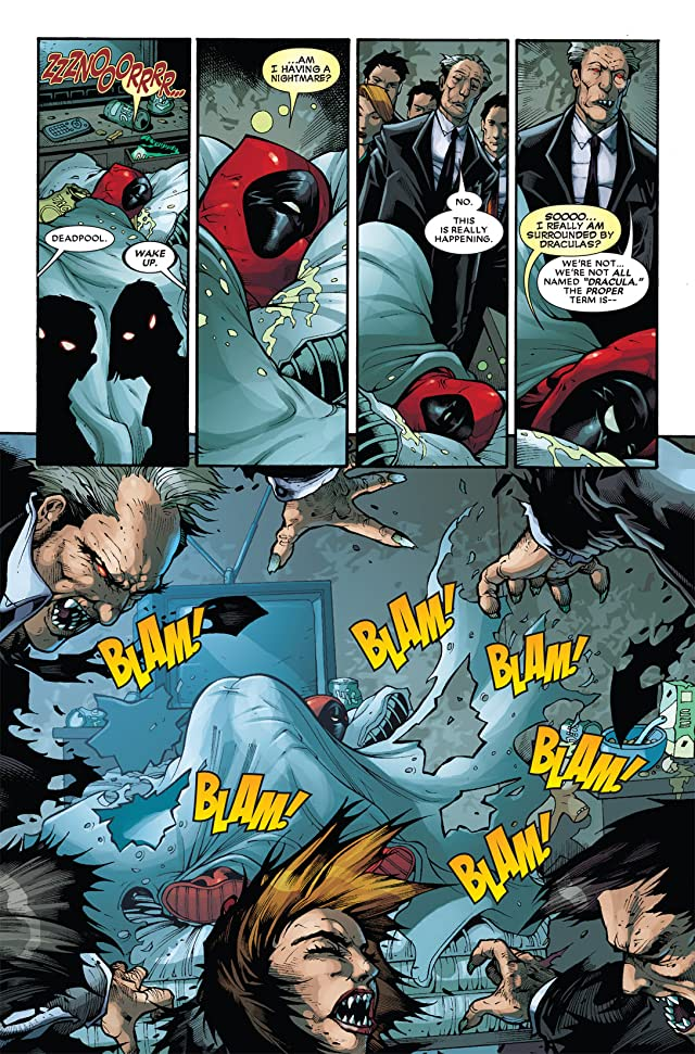 click for super-sized previews of Deadpool (2008-2012) #30