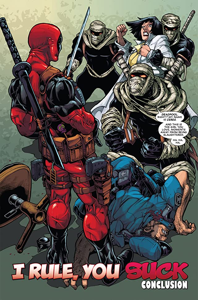 click for super-sized previews of Deadpool (2008-2012) #31