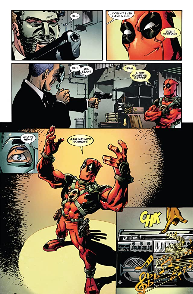 click for super-sized previews of Deadpool (2008-2012) #49.1