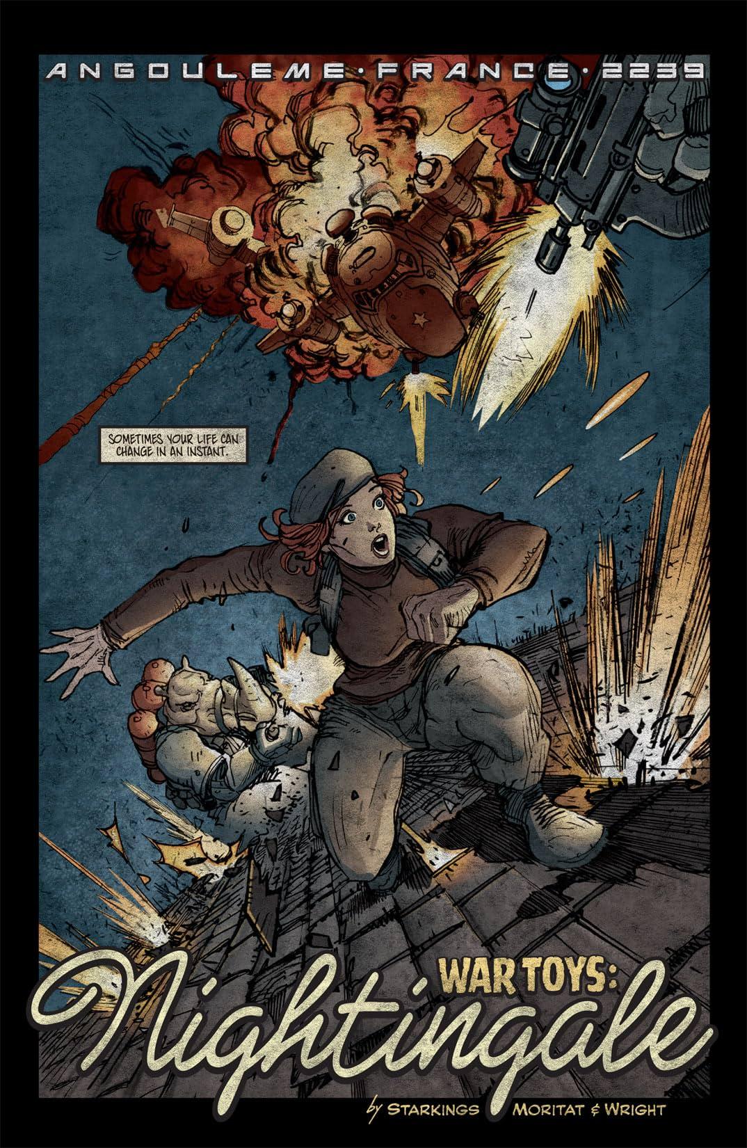 Elephantmen: War Toys - Yvette