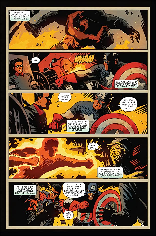 Captain America and Bucky #626