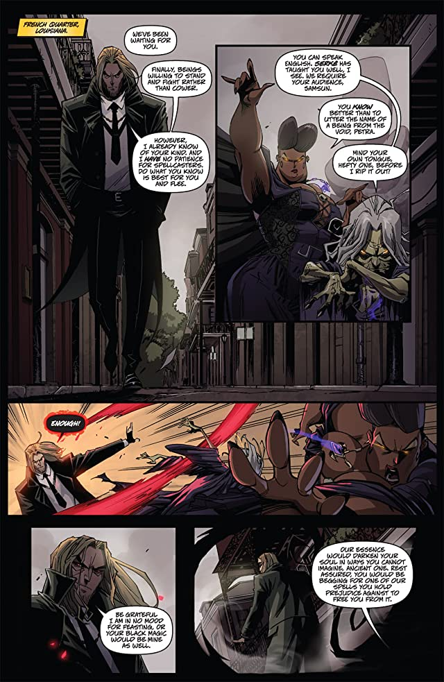 click for super-sized previews of Charismagic #3