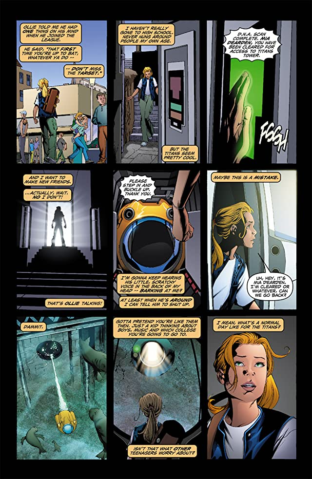 click for super-sized previews of Teen Titans (2003-2011) #21