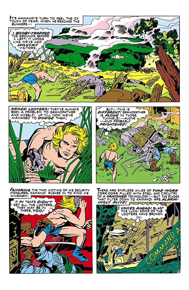 Kamandi: The Last Boy on Earth (1971-1978) #1