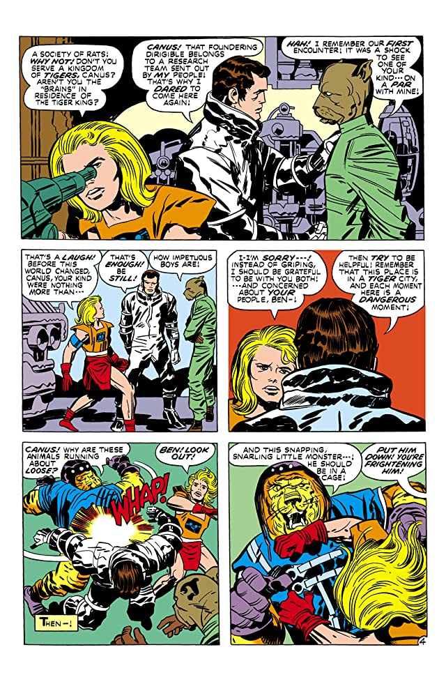 click for super-sized previews of Kamandi: The Last Boy on Earth (1971-1978) #2