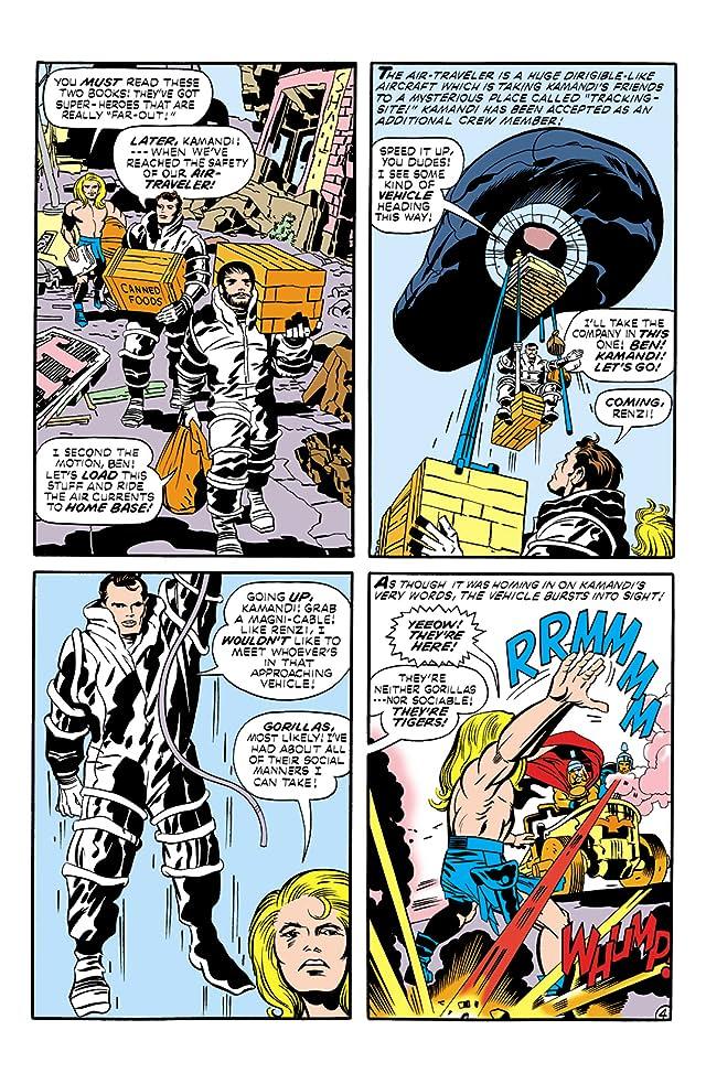Kamandi: The Last Boy on Earth (1971-1978) #4