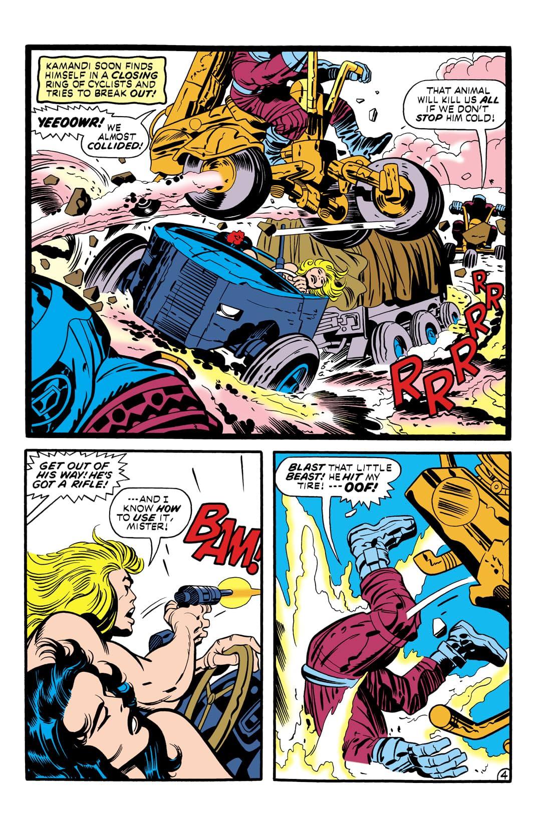 Kamandi: The Last Boy on Earth (1971-1978) #6