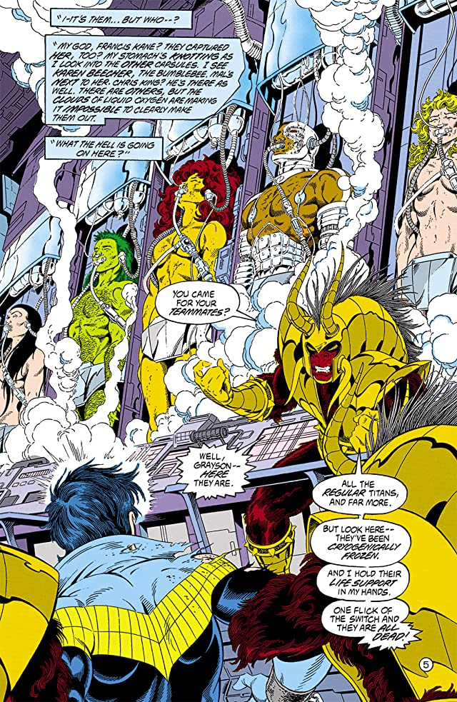 click for super-sized previews of The New Titans (1984-1996) #75