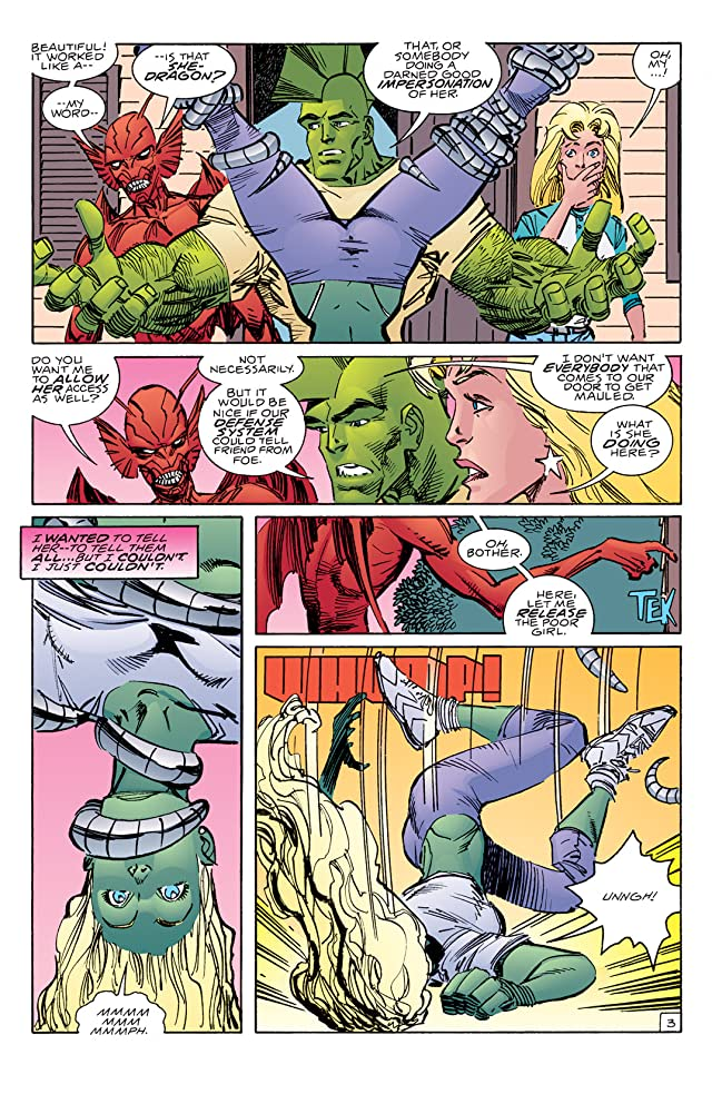 click for super-sized previews of Savage Dragon #117