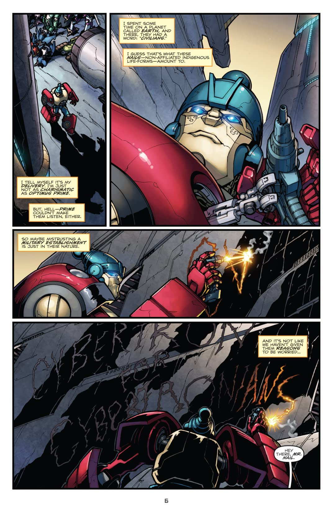 Transformers: Robots In Disguise (2011-) #1