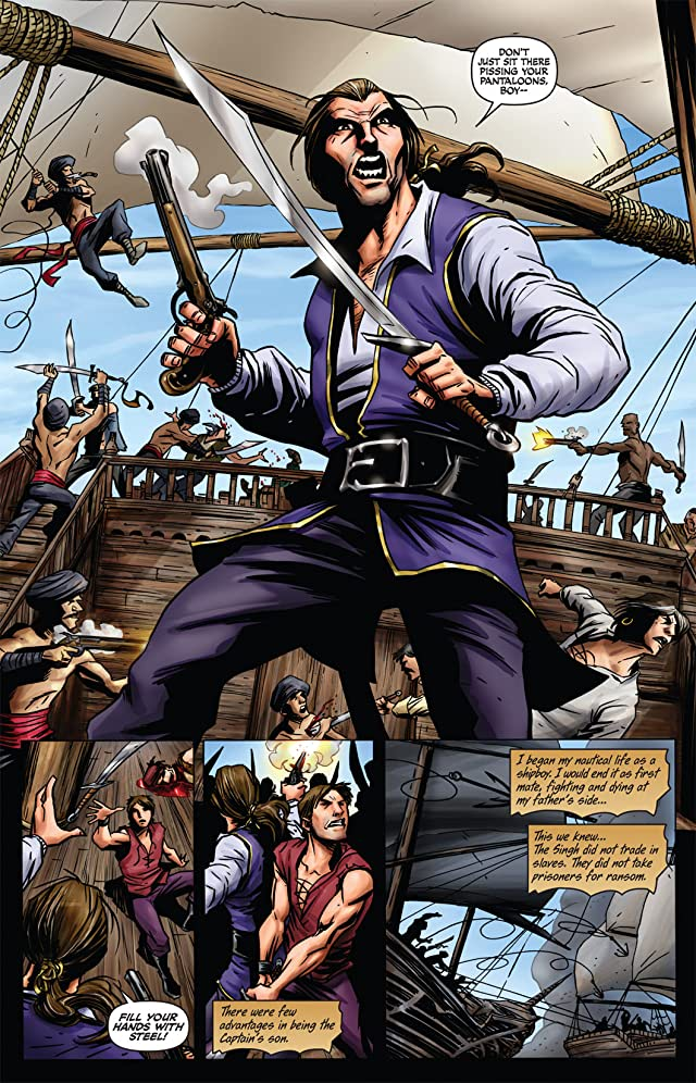 click for super-sized previews of The Last Phantom #10