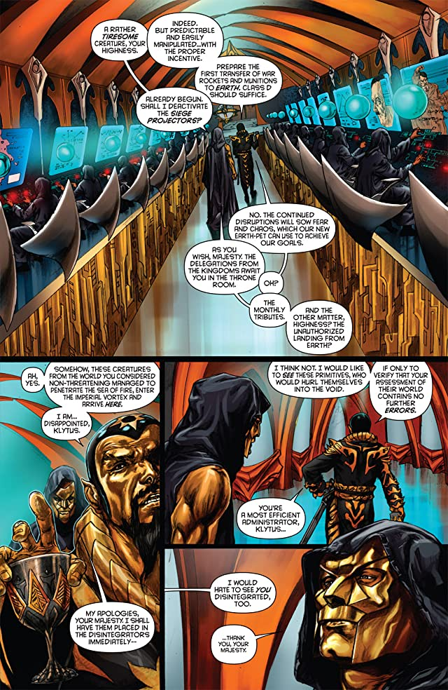 click for super-sized previews of Flash Gordon: Zeitgeist #2