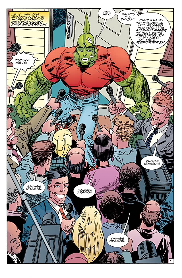 click for super-sized previews of Savage Dragon #118