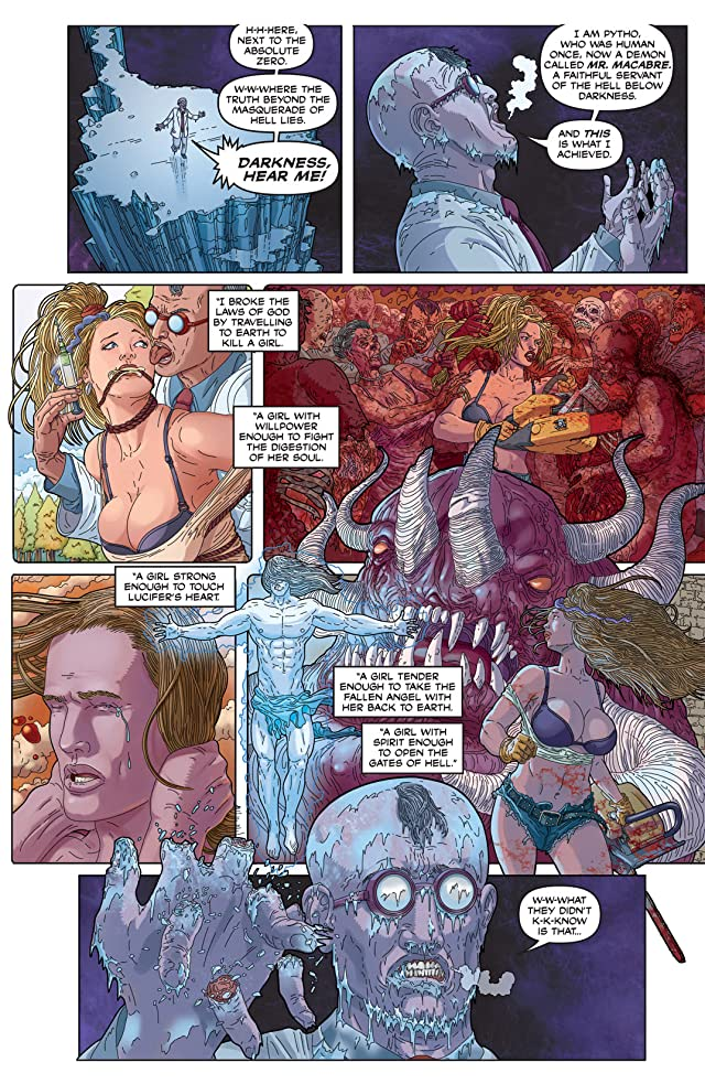 click for super-sized previews of Nancy In Hell On Earth #1 (of 4)