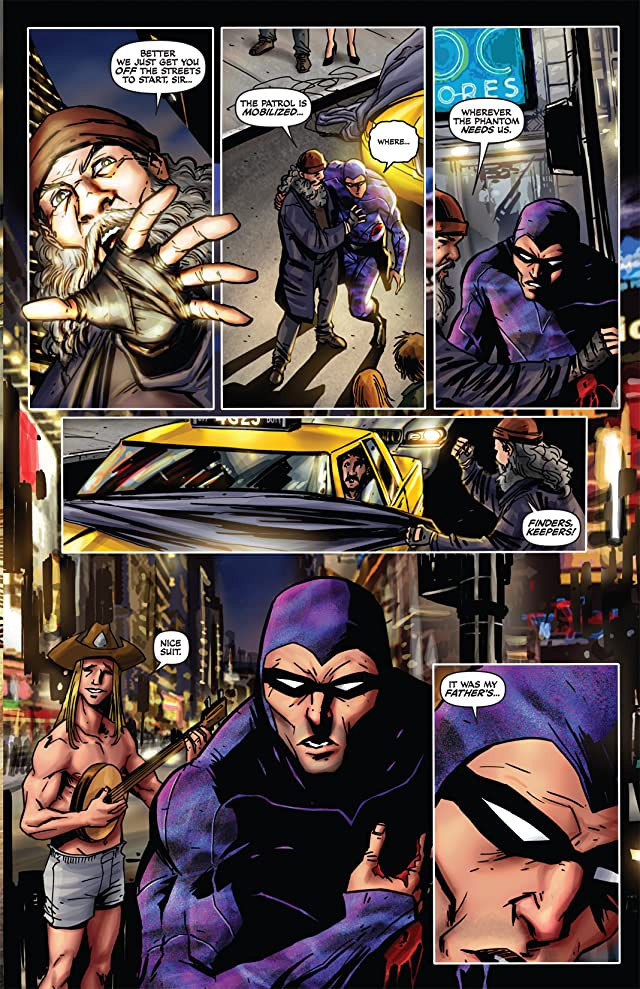 click for super-sized previews of The Last Phantom #7