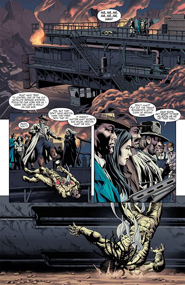 click for super-sized previews of Marksmen #5