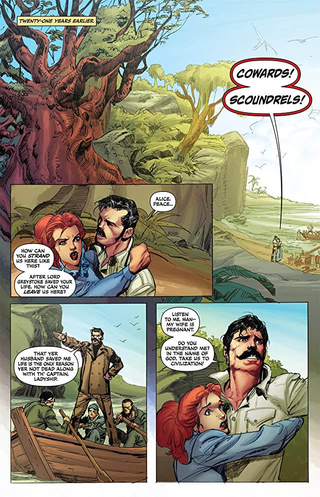 click for super-sized previews of Lord of the Jungle #1