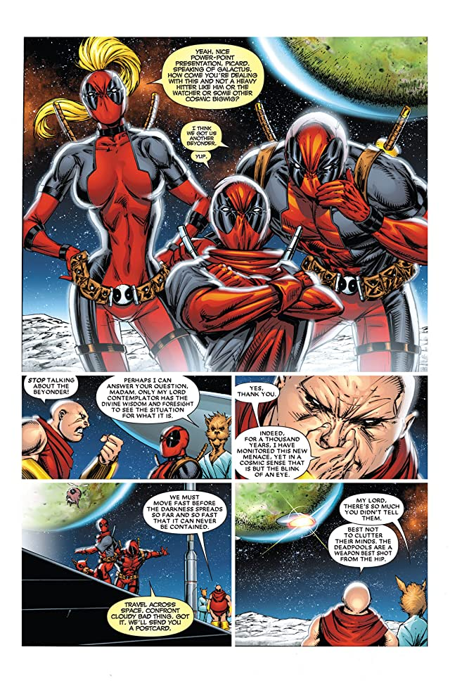 click for super-sized previews of Deadpool Corps #1