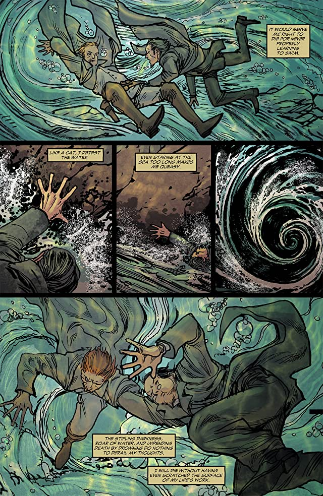 click for super-sized previews of All Star Western (2011-2014) #5