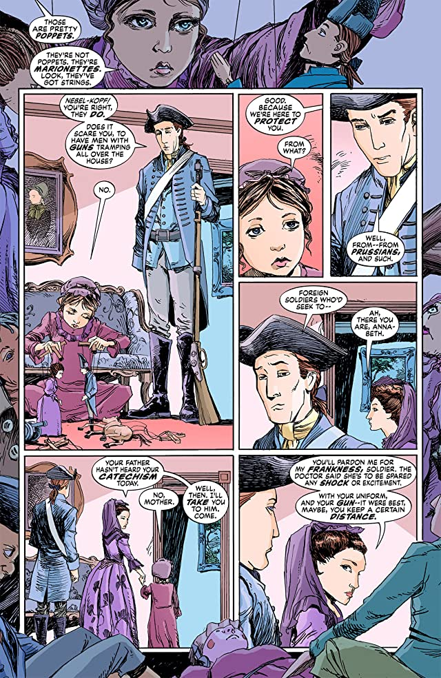 click for super-sized previews of The Unwritten #33.5
