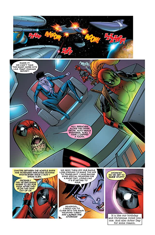 click for super-sized previews of Deadpool Corps #5