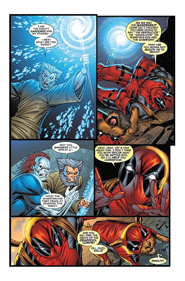 click for super-sized previews of Deadpool Corps #2