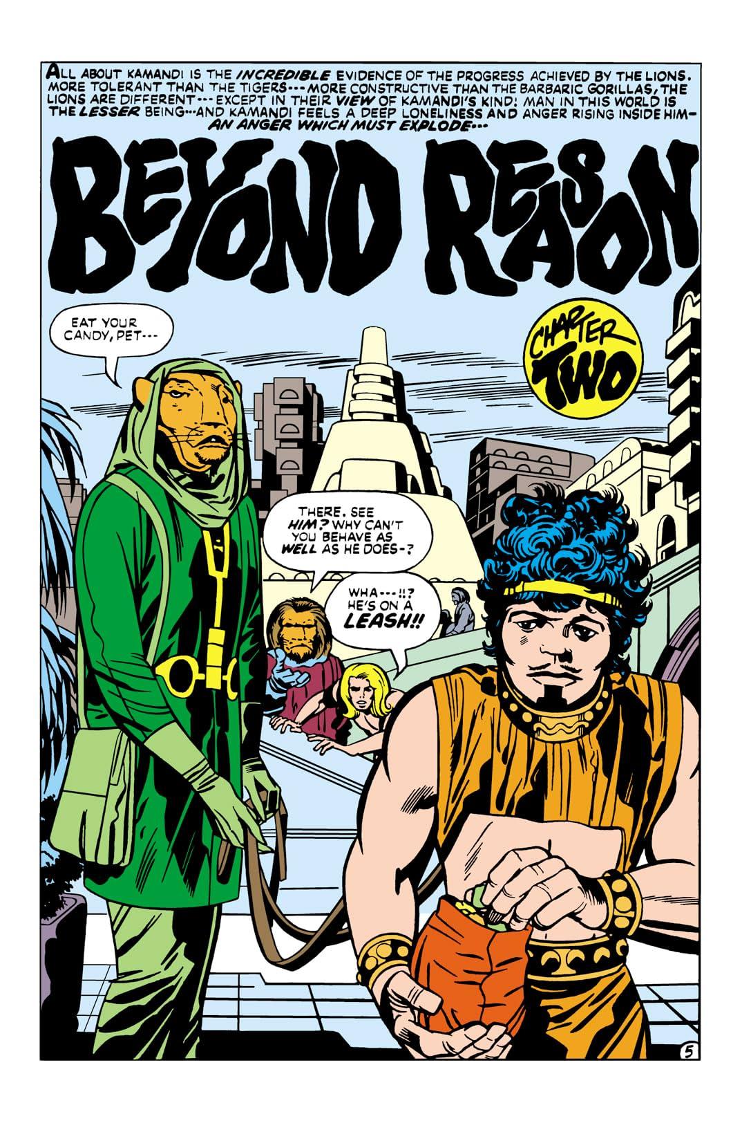 Kamandi: The Last Boy on Earth (1971-1978) #8