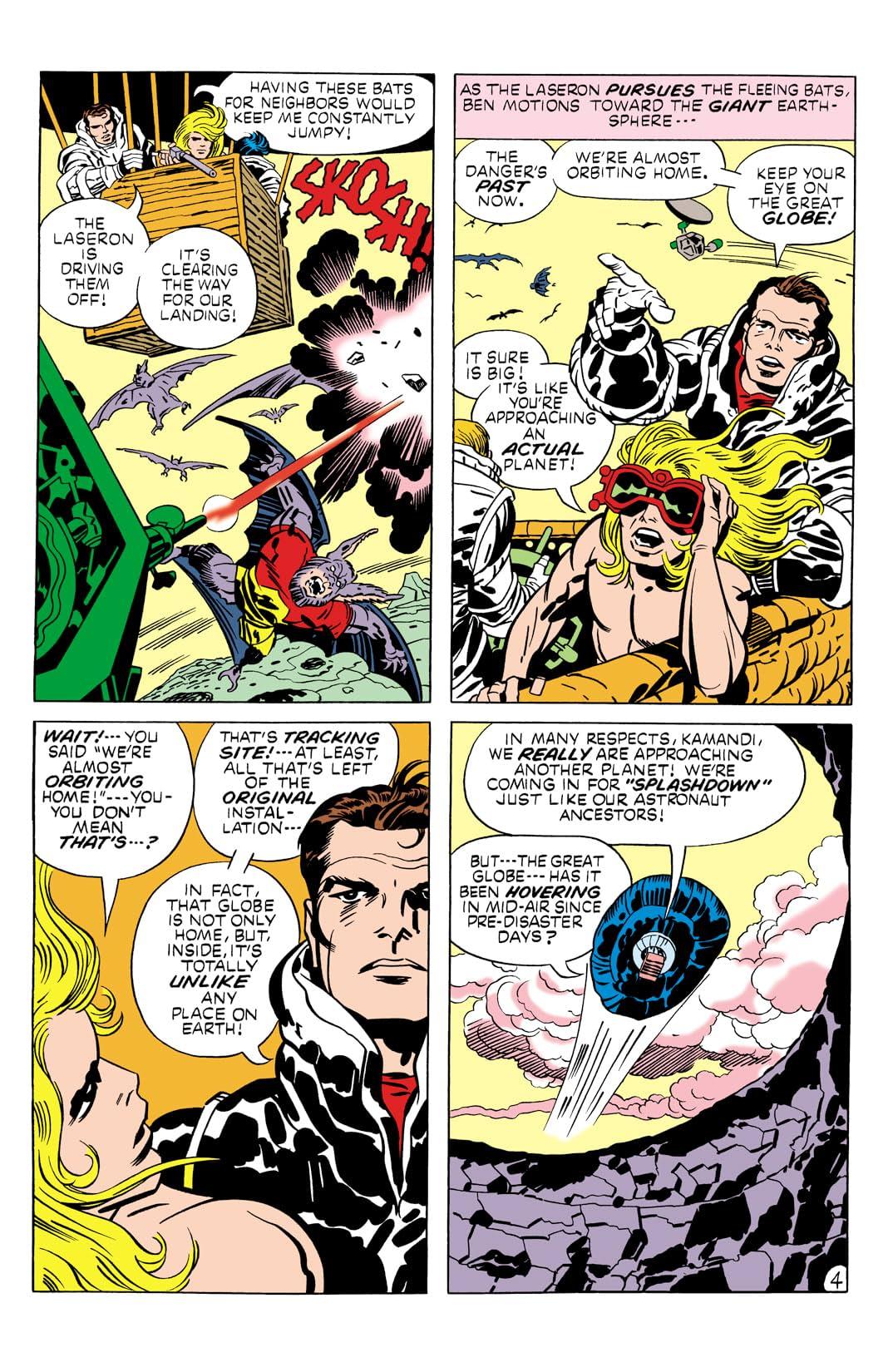 Kamandi: The Last Boy on Earth (1971-1978) #9