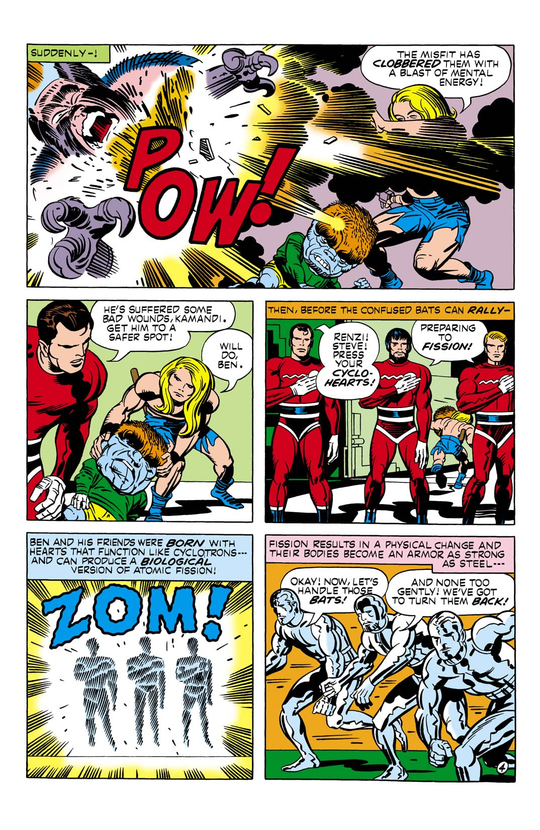 Kamandi: The Last Boy on Earth (1971-1978) #10