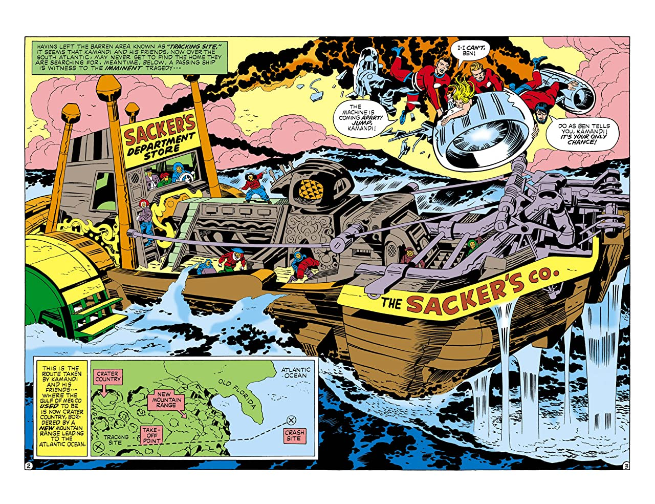 Kamandi: The Last Boy on Earth (1971-1978) #11