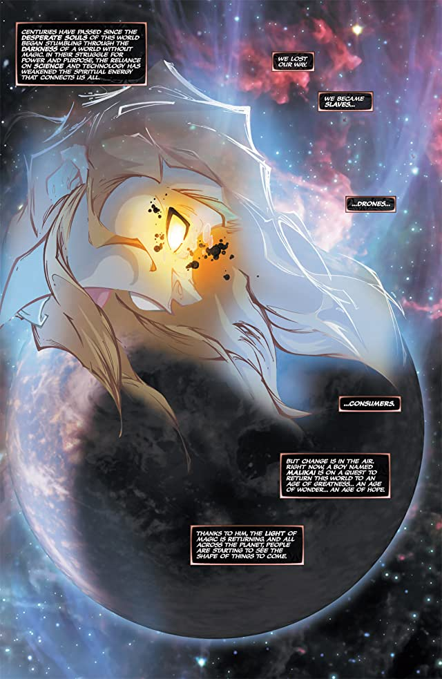 click for super-sized previews of Soulfire: New World Order #0