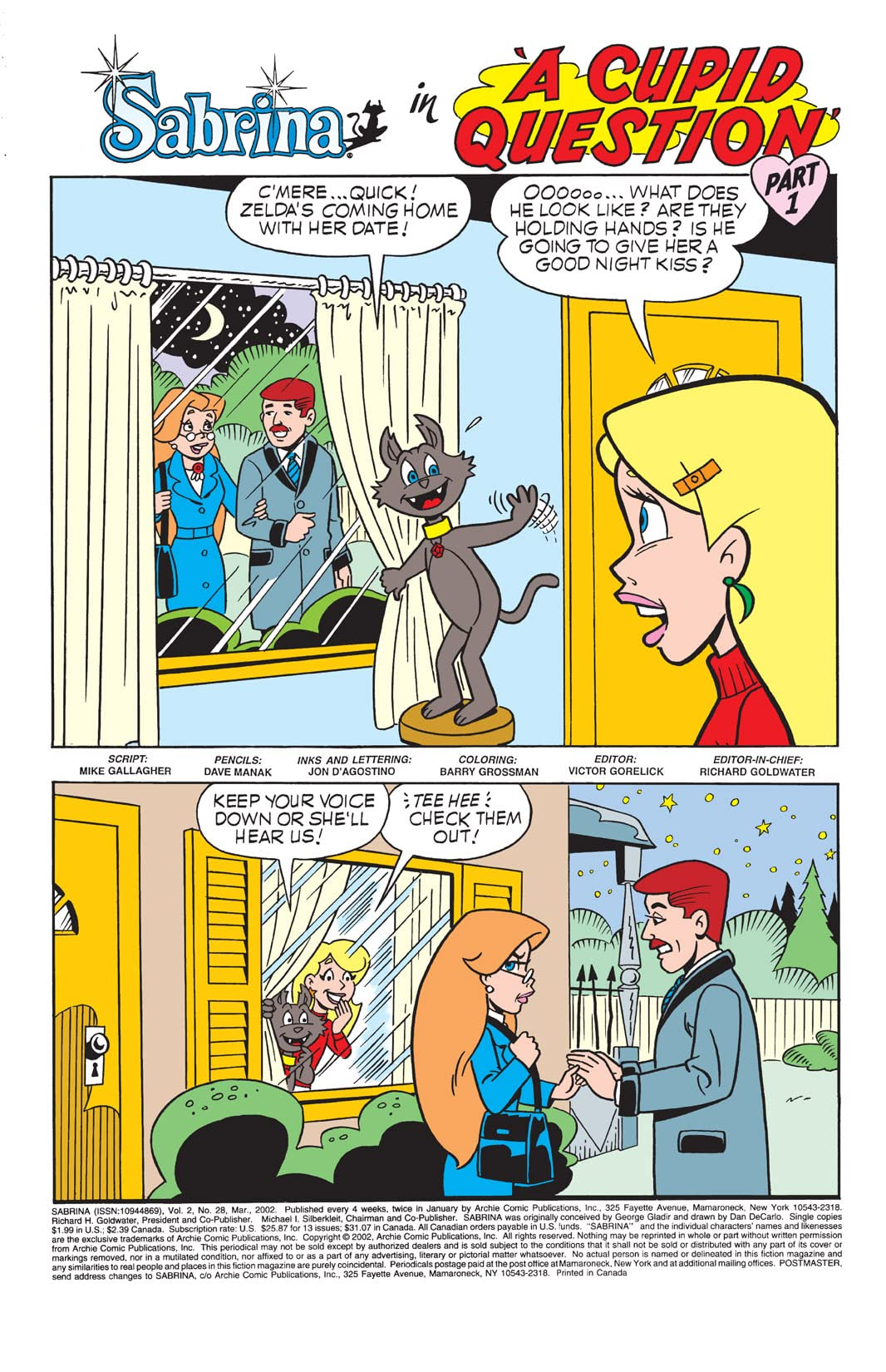Sabrina the Teenage Witch Animated Series #28