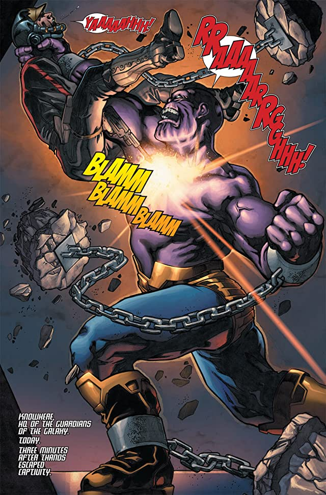 click for super-sized previews of The Thanos Imperative #1