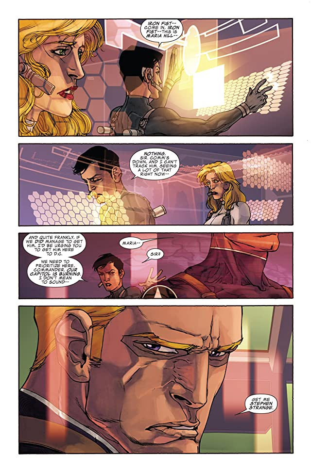 click for super-sized previews of Iron Man 2.0 #6