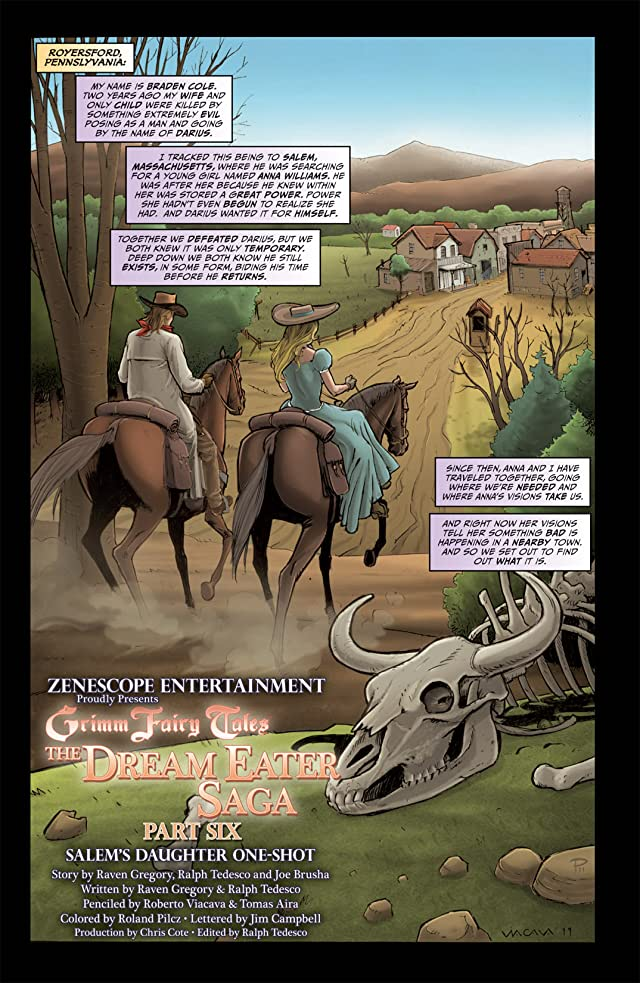 click for super-sized previews of Grimm Fairy Tales: The Dream Eater Saga - Salem's Daughter
