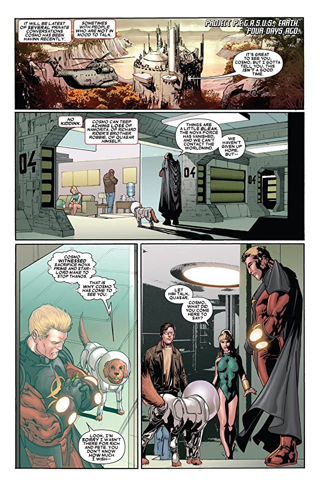 click for super-sized previews of The Thanos Imperative: Devastation