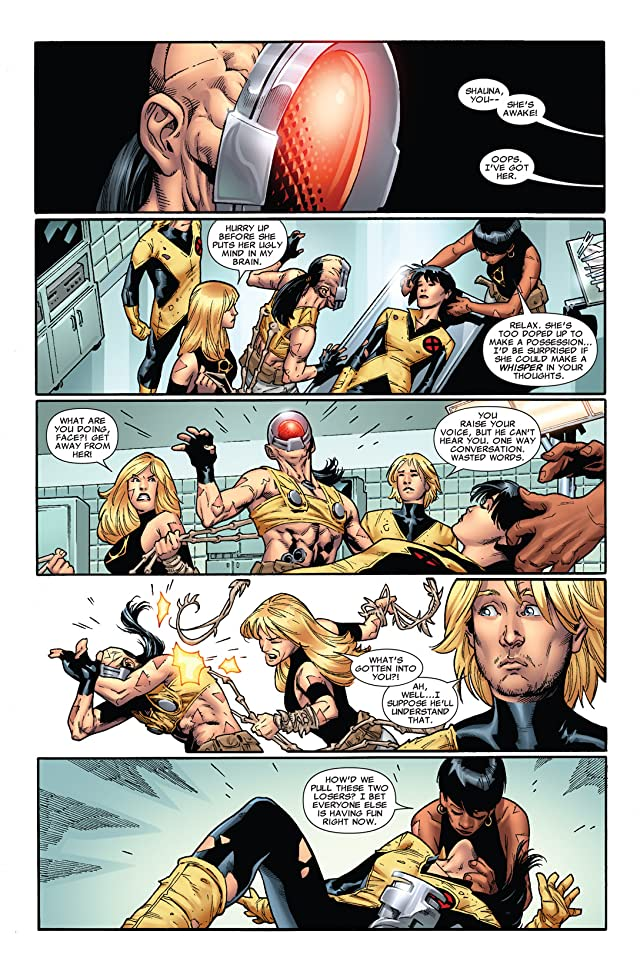 click for super-sized previews of New Mutants (2009-2011) #19