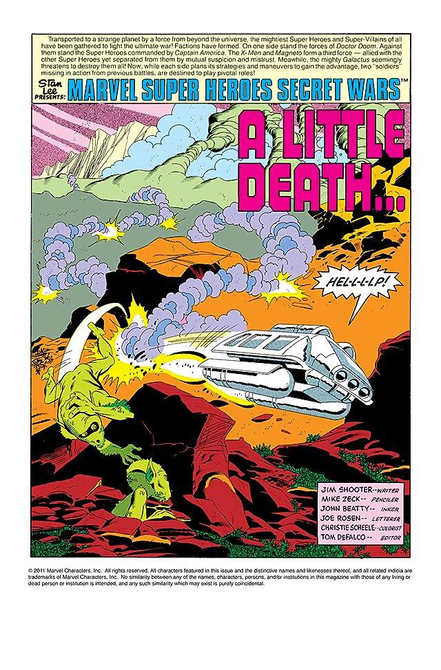 click for super-sized previews of Secret Wars (1984-1985) #6