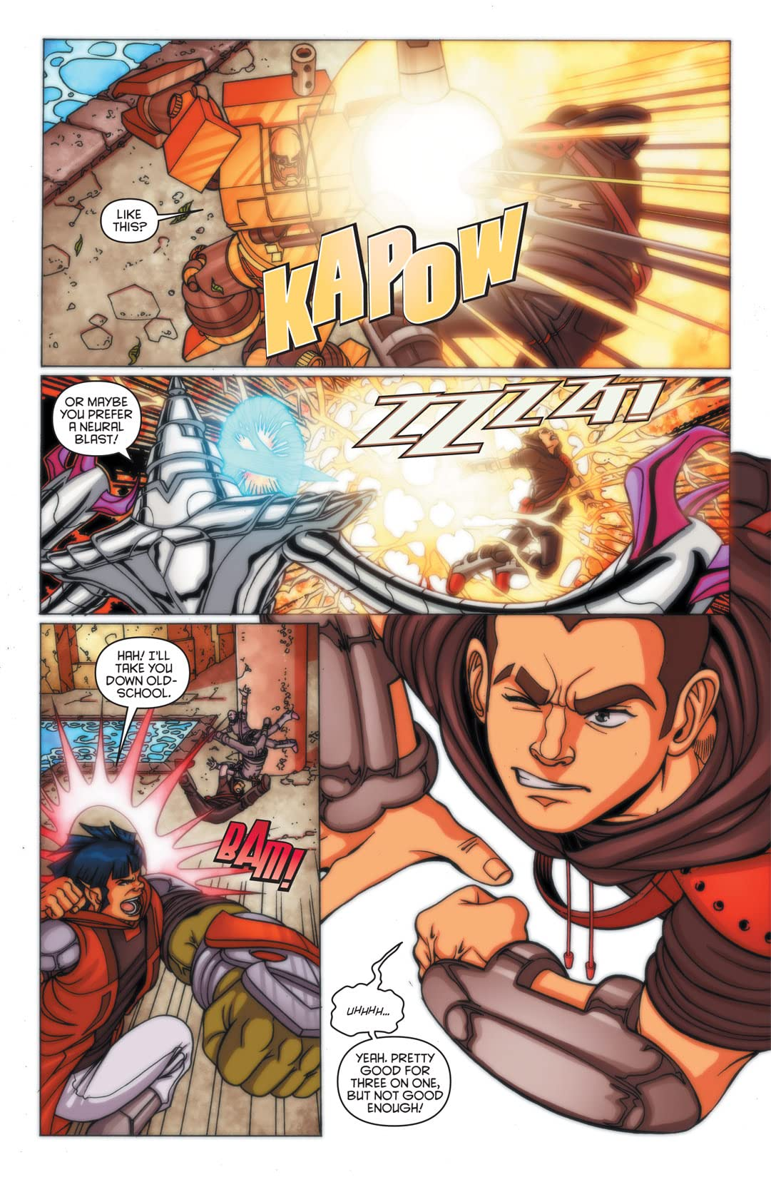 Redakai: Conquer the Kairu #1