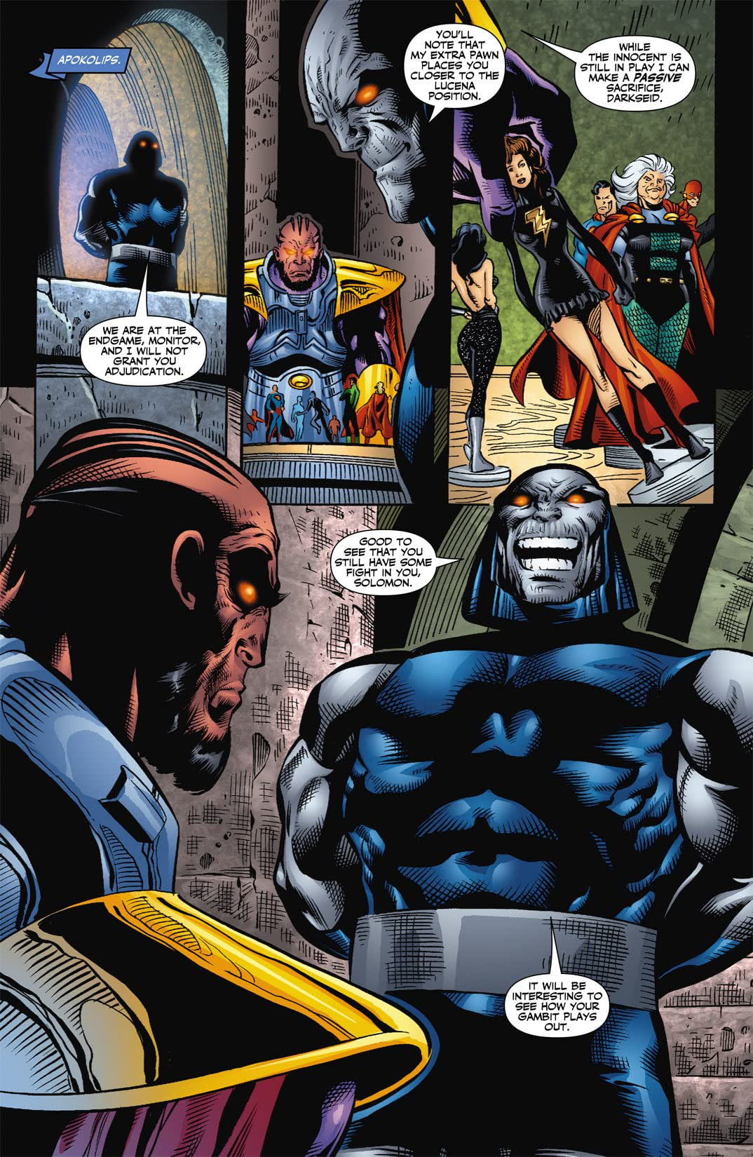 Countdown to Final Crisis #12
