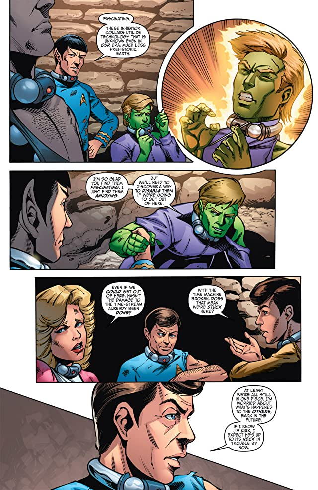click for super-sized previews of Star Trek/Legion of Super-Heroes #5