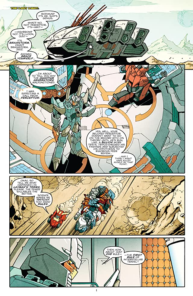click for super-sized previews of Transformers: More Than Meets the Eye (2011-) #2
