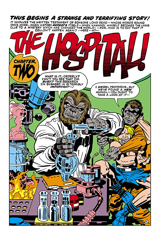 click for super-sized previews of Kamandi: The Last Boy on Earth (1971-1978) #16