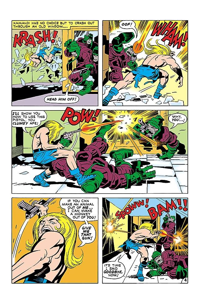 Kamandi: The Last Boy on Earth (1971-1978) #18