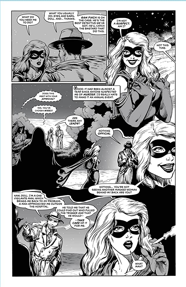 click for super-sized previews of Return of the Monsters: Domino Lady vs. Mummy