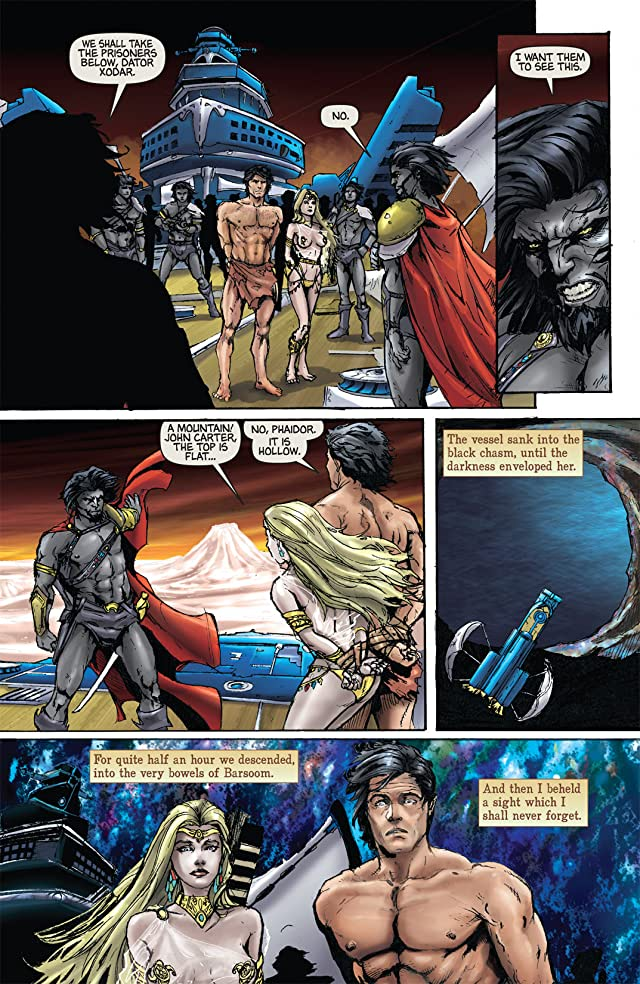 click for super-sized previews of Warlord of Mars #15