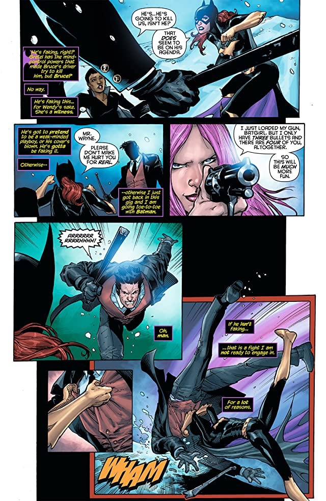 click for super-sized previews of Batgirl (2011-) #6