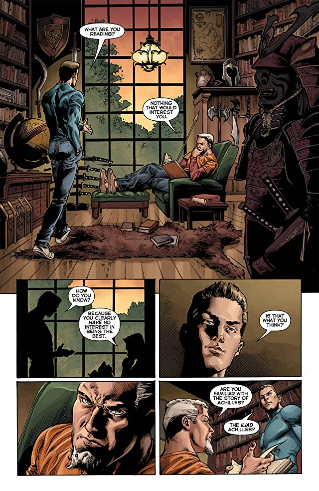 click for super-sized previews of Deathstroke (2011-2013) #6