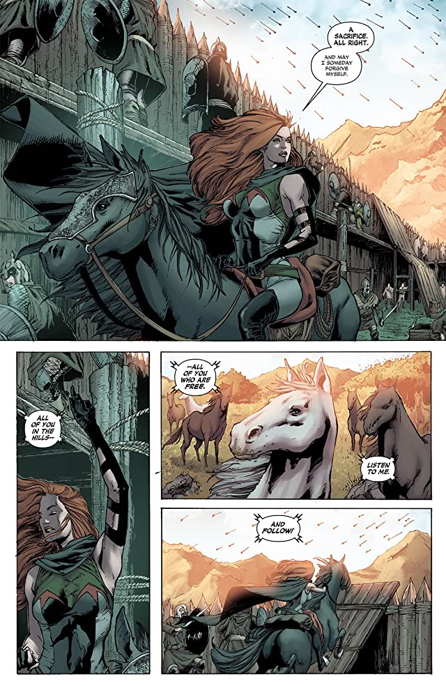 click for super-sized previews of Demon Knights (2011-2013) #6