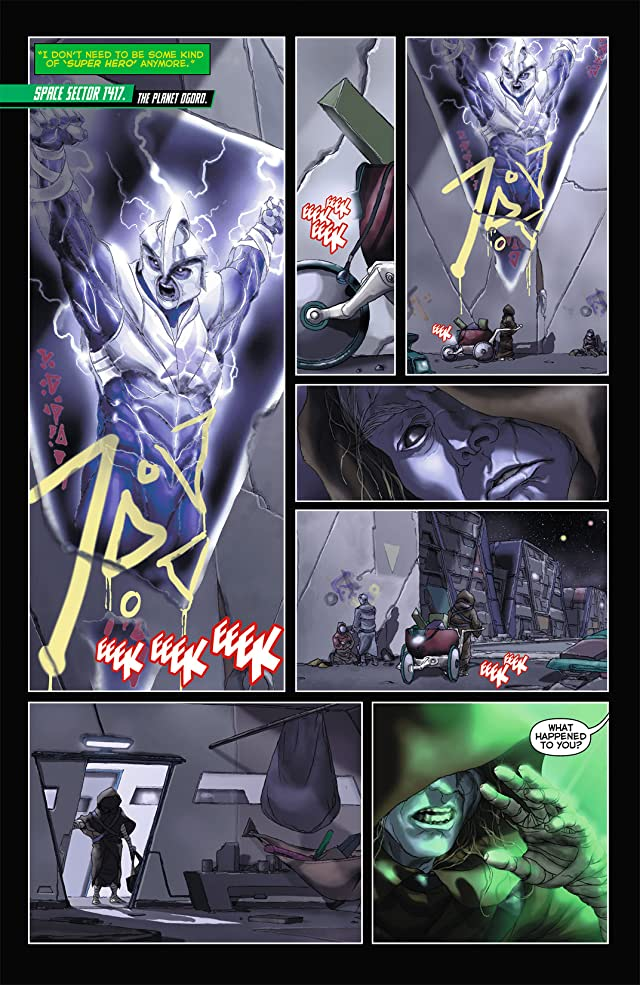 click for super-sized previews of Green Lantern (2011-) #6